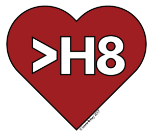 Heart > H8 Enamel Pin Design